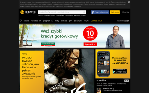 Access filmweb.pl using Hola Unblocker web proxy