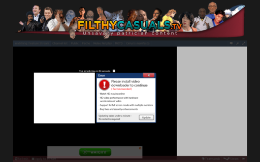 Access filthycasuals.tv using Hola Unblocker web proxy