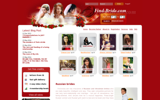 Access find-bride.com using Hola Unblocker web proxy