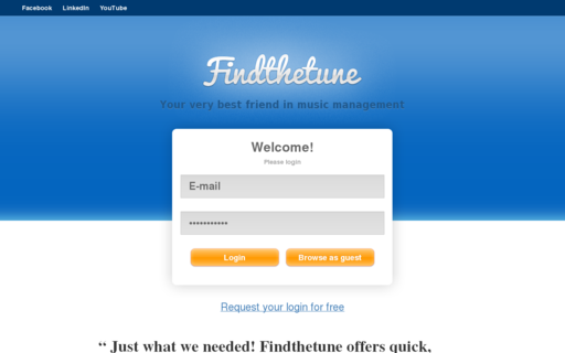 Access findthetune.com using Hola Unblocker web proxy