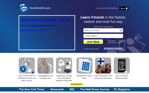 Access finnishpod101.com using Hola Unblocker web proxy