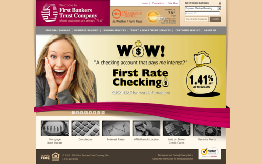 Access firstbankers.com using Hola Unblocker web proxy