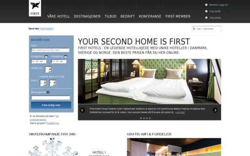 Access firsthotels.no using Hola Unblocker web proxy