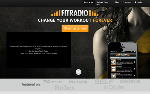 Access fitradio.com using Hola Unblocker web proxy