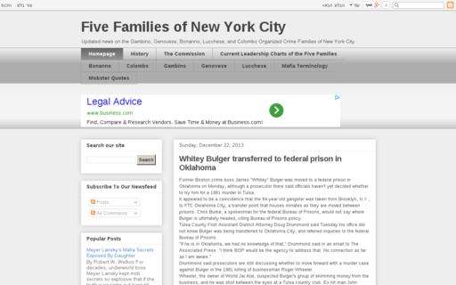 Access fivefamiliesnyc.com using Hola Unblocker web proxy