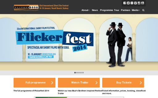 Access flickerfest.com.au using Hola Unblocker web proxy