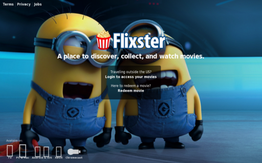 Access flixster.com using Hola Unblocker web proxy