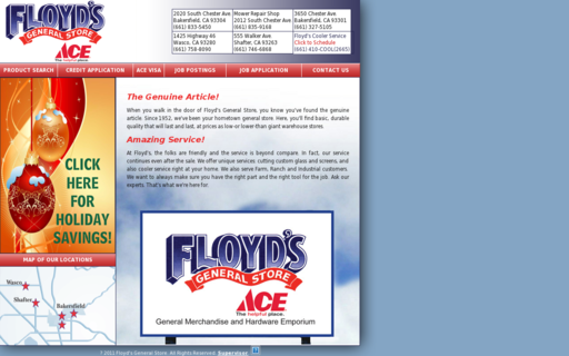 Access floyds.com using Hola Unblocker web proxy