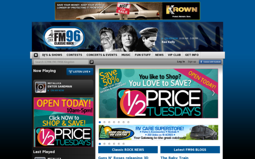 Access fm96.ca using Hola Unblocker web proxy