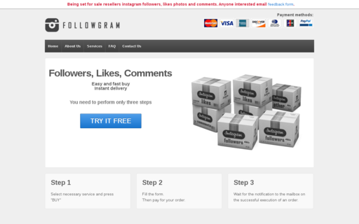Access followgram.net using Hola Unblocker web proxy