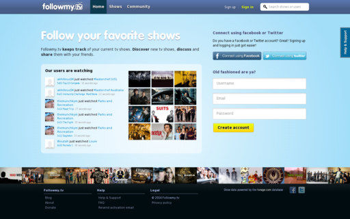 Access followmy.tv using Hola Unblocker web proxy