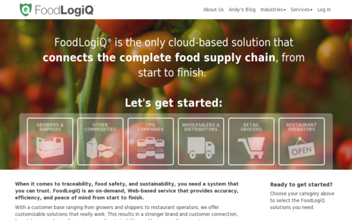 Access foodlogiq.com using Hola Unblocker web proxy