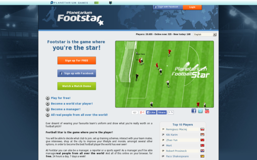 Access footstar.org using Hola Unblocker web proxy