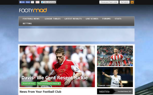 Access footymad.net using Hola Unblocker web proxy