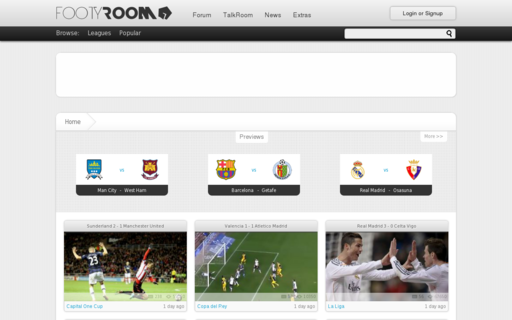 Access footyroom.com using Hola Unblocker web proxy