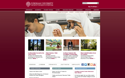 Access fordham.edu using Hola Unblocker web proxy