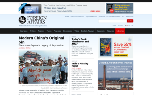 Access foreignaffairs.com using Hola Unblocker web proxy