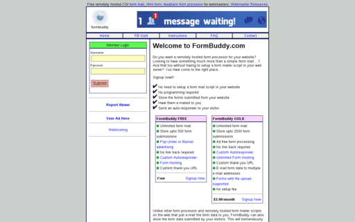 Access formbuddy.com using Hola Unblocker web proxy