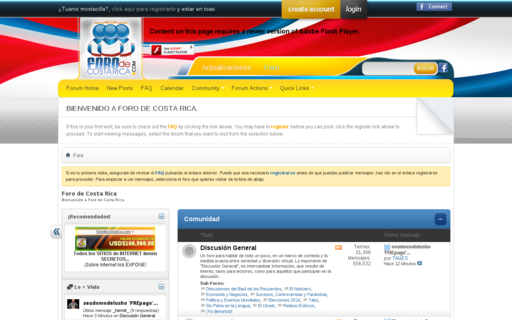 Access forodecostarica.com using Hola Unblocker web proxy