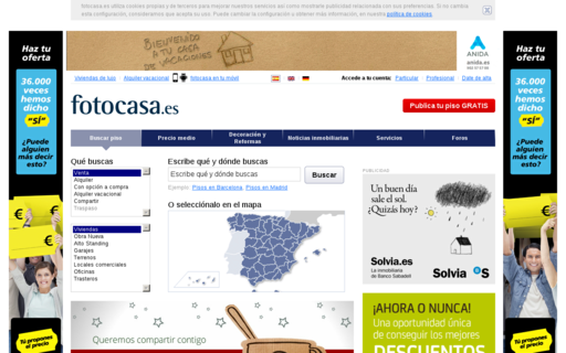 Access fotocasa.es using Hola Unblocker web proxy