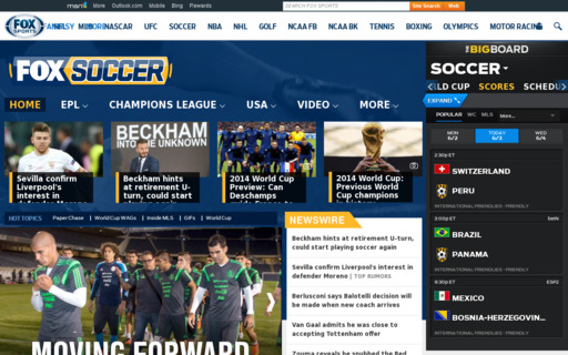 Access foxsoccer.com using Hola Unblocker web proxy