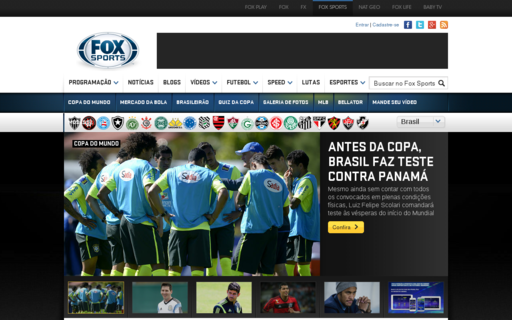 Access foxsports.com.br using Hola Unblocker web proxy