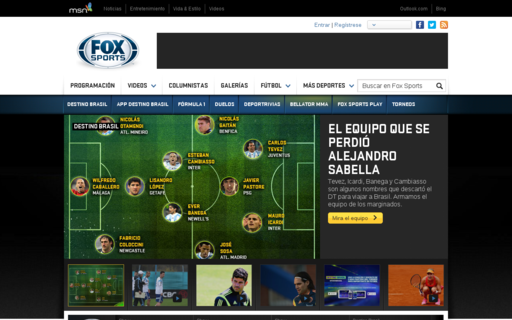 Access foxsportsla.com using Hola Unblocker web proxy