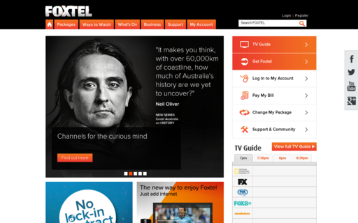Access foxtel.com.au using Hola Unblocker web proxy