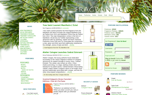 Access fragrantica.com using Hola Unblocker web proxy