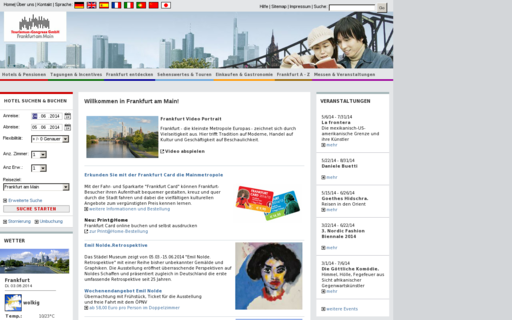 Access frankfurt-tourismus.de using Hola Unblocker web proxy