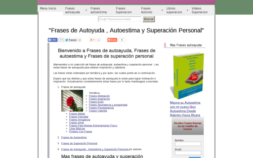 Access frases-autoayuda-autoestima.com using Hola Unblocker web proxy