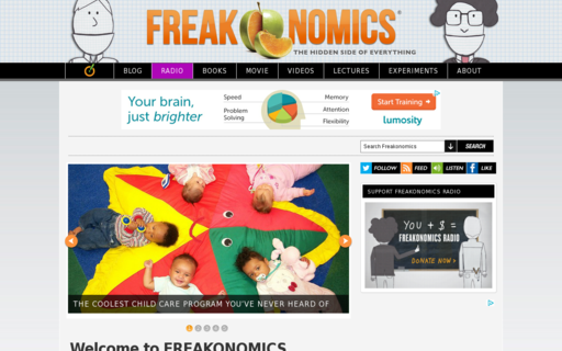 Access freakonomics.com using Hola Unblocker web proxy
