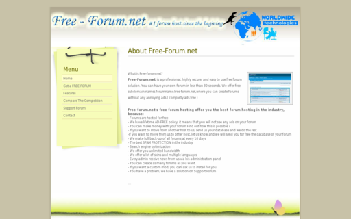 Access free-forum.net using Hola Unblocker web proxy