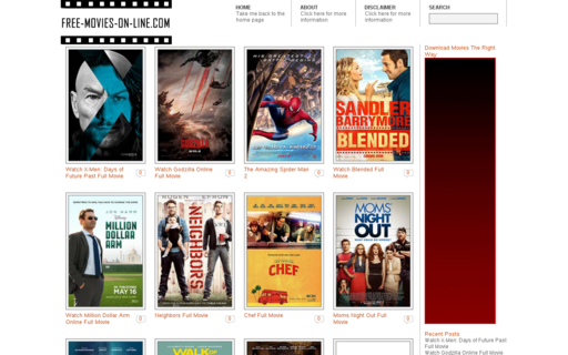 Access free-movies-on-line.com using Hola Unblocker web proxy