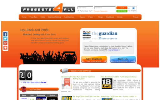 Access freebets4all.com using Hola Unblocker web proxy