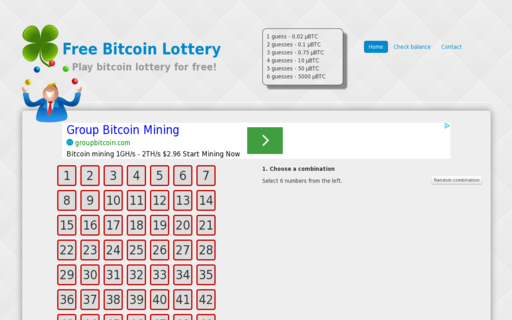 Access freebitcoinlottery.com using Hola Unblocker web proxy