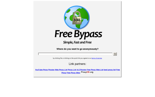 Access freebypass.com using Hola Unblocker web proxy