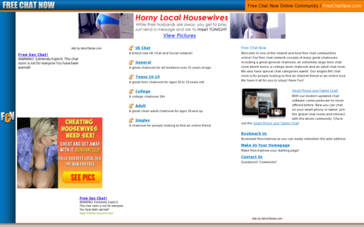 Access freechatnow.com using Hola Unblocker web proxy
