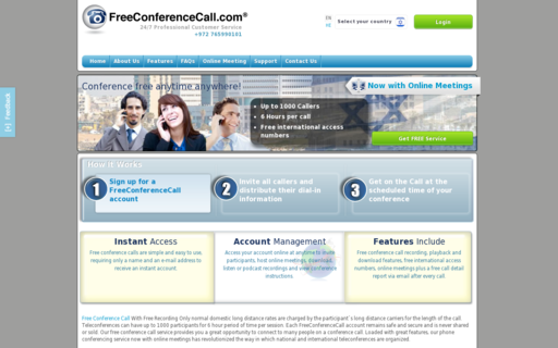 Access freeconferencecall.com using Hola Unblocker web proxy