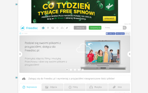 Access freedisc.pl using Hola Unblocker web proxy