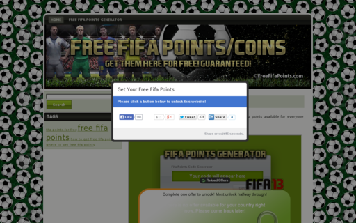 Access freefifapoints.com using Hola Unblocker web proxy