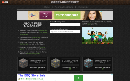 Access freeminecraft.me using Hola Unblocker web proxy
