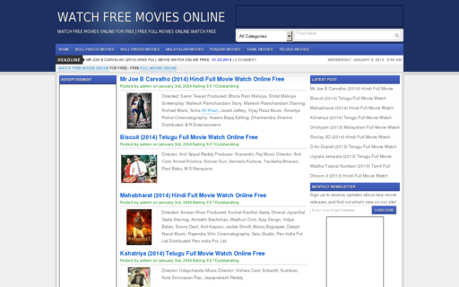 Access freemoviestime.com using Hola Unblocker web proxy