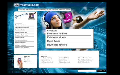 Access freemucis.com using Hola Unblocker web proxy