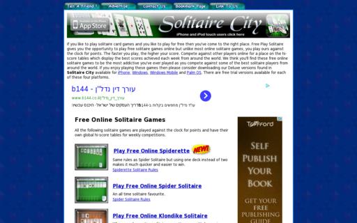 Access freeplaysolitaire.com using Hola Unblocker web proxy