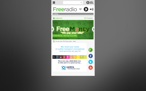 Access freeradioplayer.co.uk using Hola Unblocker web proxy