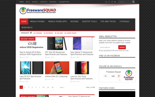 Access freewaresquad.com using Hola Unblocker web proxy
