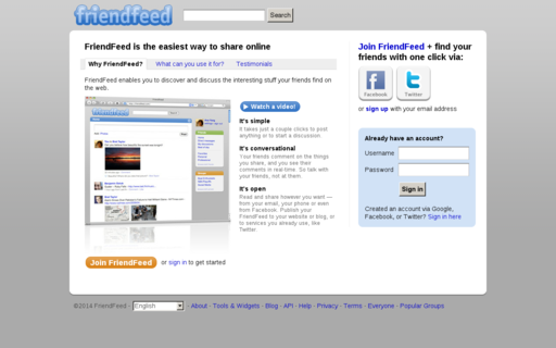 Access friendfeed.com using Hola Unblocker web proxy