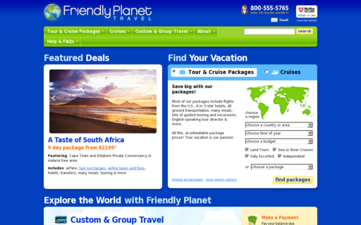 Access friendlyplanet.com using Hola Unblocker web proxy