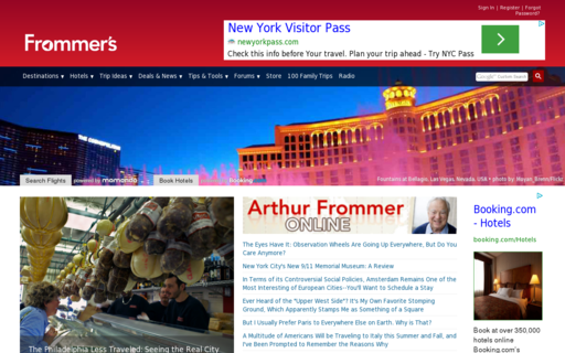Access frommers.com using Hola Unblocker web proxy